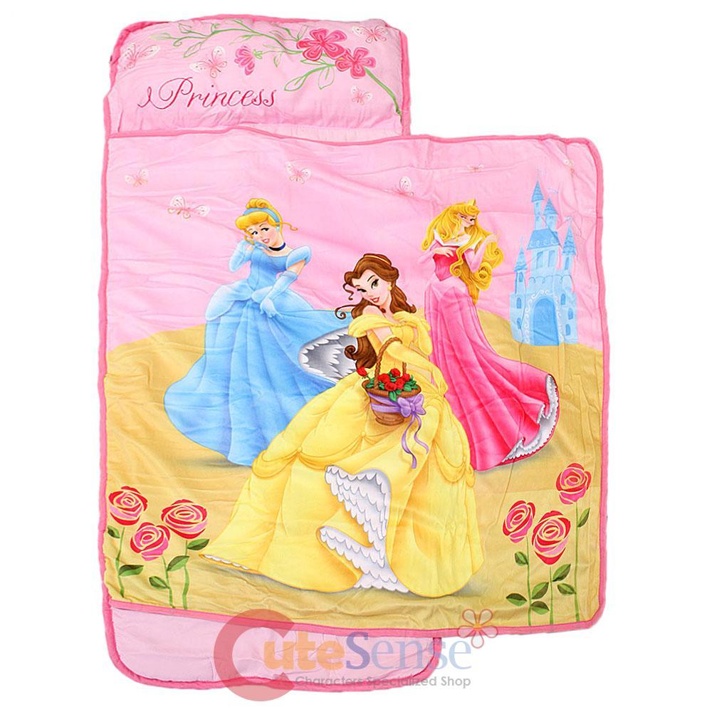 Disney Princess Kids Nap Mat with Pillow and Balnket  eBay