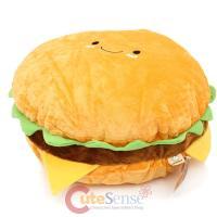 """Large Hamburger Cushion Food Pillow 16"""" Cheese burger ..."""