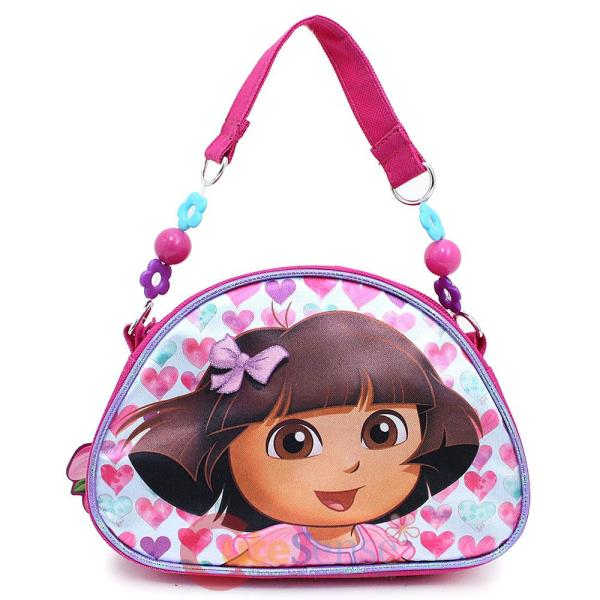 Dora Explorer Kids Hand Bag Purse Lovely Flower