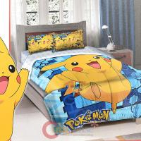 Nintendo Pokemon Pikchue Bedding Comforter Sharm Set