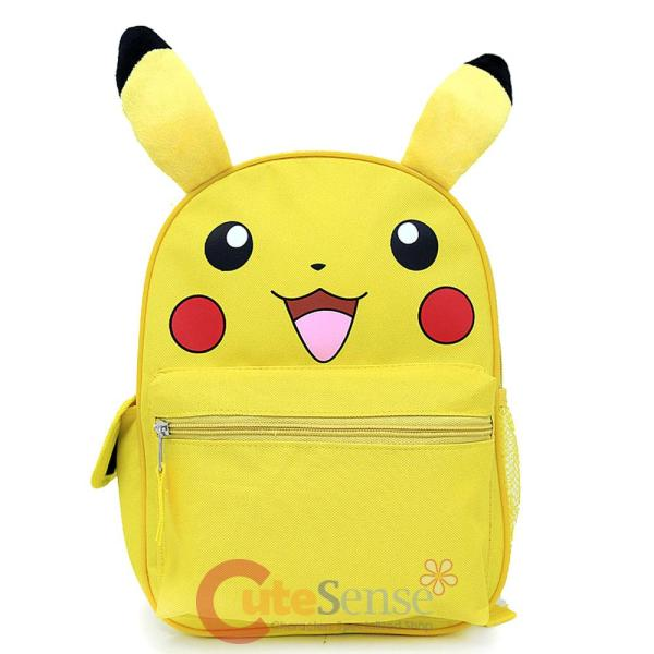 "Pokemon Pikachu Medium School Backpack 12"" Book Bag With"