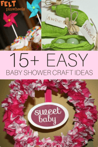 DIY Baby Shower Craft Ideas