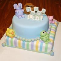 Baby Shower Cakes: Animal Baby Shower Cake Ideas
