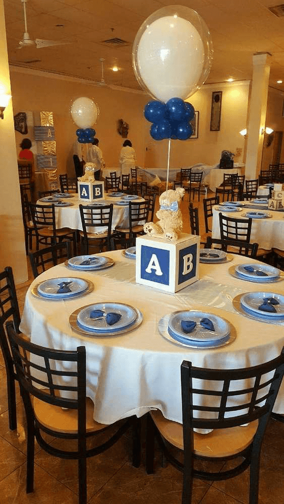 23 EasyToMake Baby Shower Centerpieces  Table
