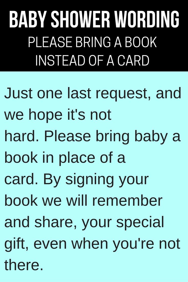Baby Shower Invitation Sayings