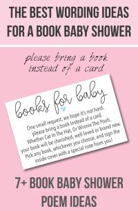 Book Baby Shower Invitations & Wording Ideas ...