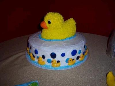 13 Duck Baby Shower Cakes You Must See  CutestBabyShowerscom