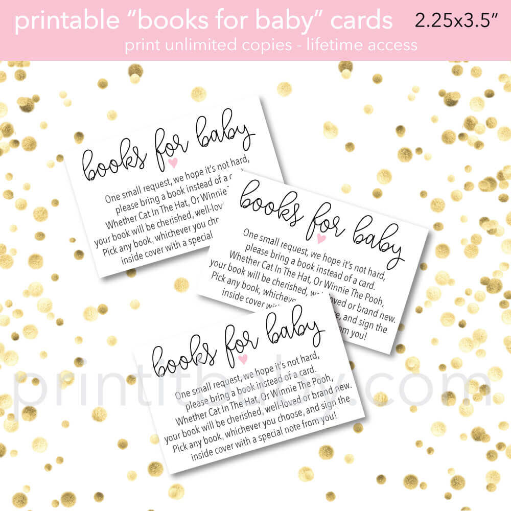 Book Baby Shower Invitations & Wording Ideas