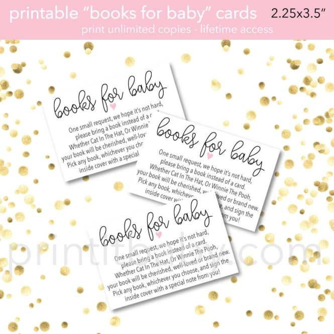 Boy Safari Baby Shower Bring A Book Instead Of Card Invitation Inserts Instant