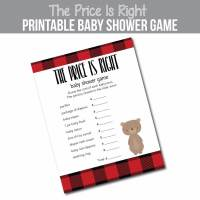 Winter & Christmas Baby Shower Ideas with free printable
