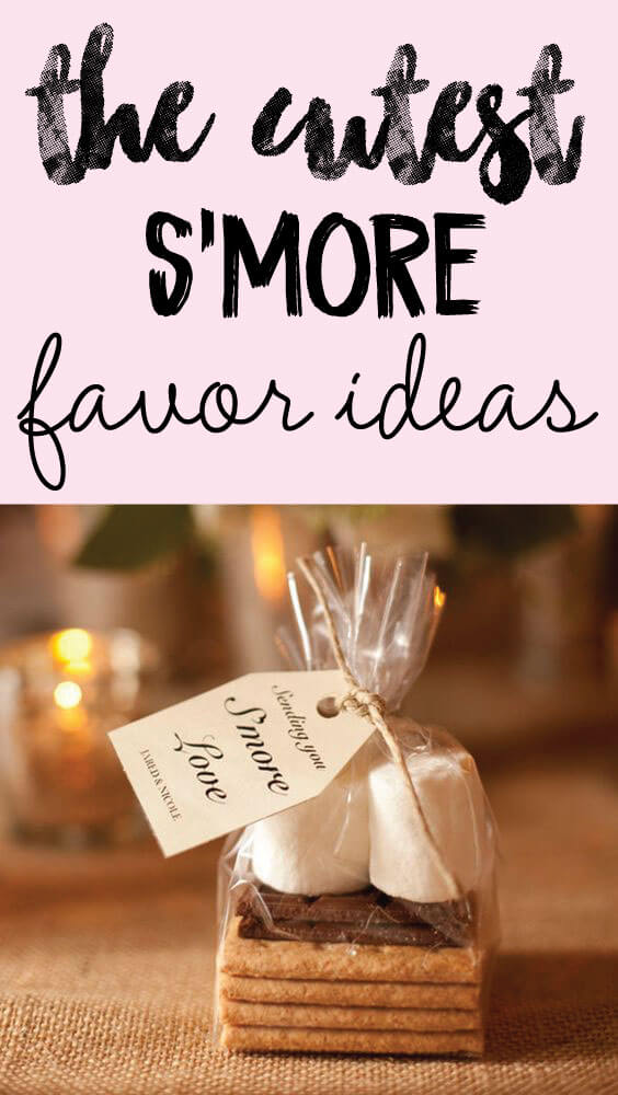 5 Easy Smores Favor Ideas That Your Guests Will Love