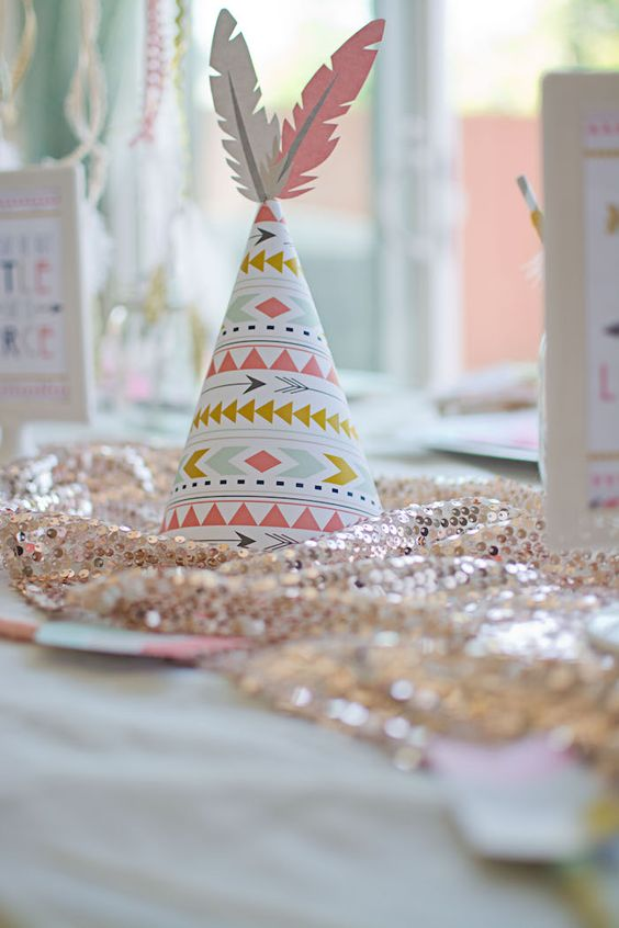 Boho Tribal Baby Shower Pictures  Ideas  CutestBabyShowerscom