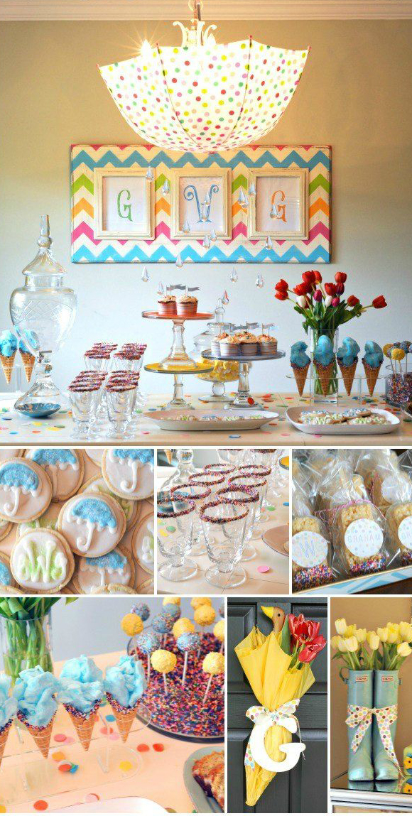 umbrella baby shower ideas