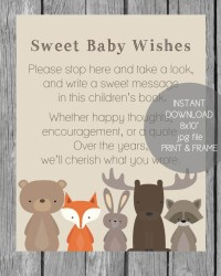 25+ Woodland Baby Shower Theme Ideas (Decorations, Games ...