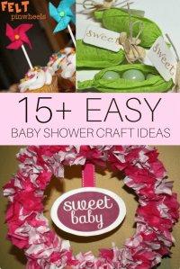 DIY Baby Shower Craft Ideas - CutestBabyShowers.com
