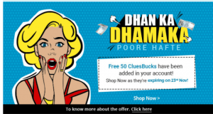 shopclues cluebucks
