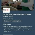 (Proof Added) [Over] Maxit App – Download & Get Rs 50 Mobikwik Cash