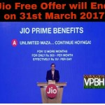 [Confirmed] Reliance Jio Free Service Over On 31 March + New Traiff Plans Details