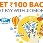 BookMyShow Jio Money – Get Rs 150 Off On Ticket + Rs 100 Cashback