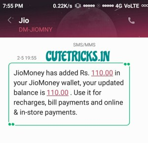 jio chat refer proof