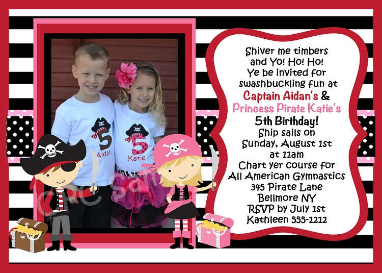 birthday invitation card template for