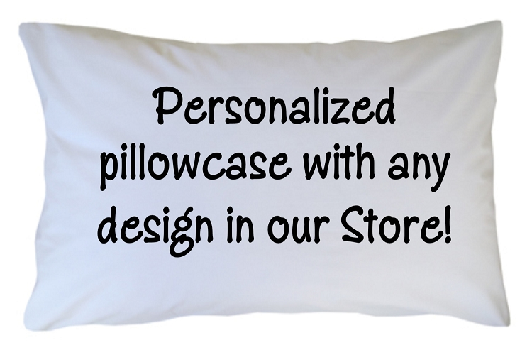 pc500 personalized pillowcase custom with any design theme