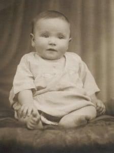 Norma Watkins age 6 months