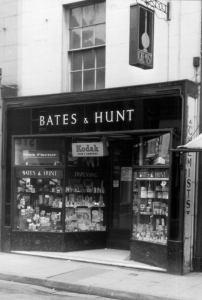 Bates and Hunt 14 Market Square May 1960