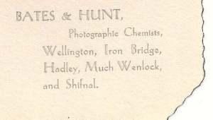 Bates and Hunt slip case 1940