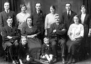 May Scott wedding, 1923