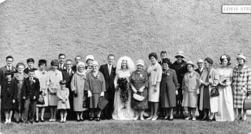 Ivor Holley Ann Monks Wedding 1964