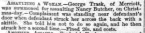 Somerset County Gazette 26 Jan 1878. Highly unlikely to be a roughly 14 year old George.