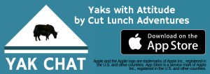 Yak Chat stickers on the app store