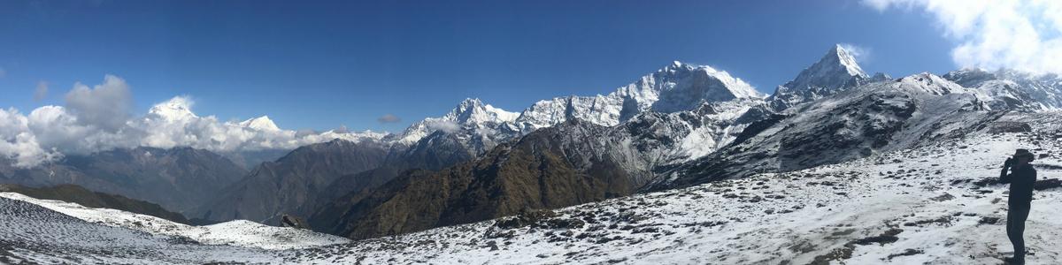 Panorama from Kopra Ridge