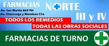 farmacia de turno norte