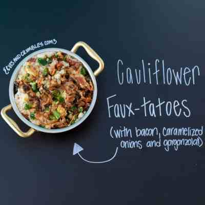 Cauliflower Faux-tatoes