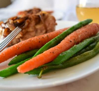 Easy Sautéed Carrots and Green Beans