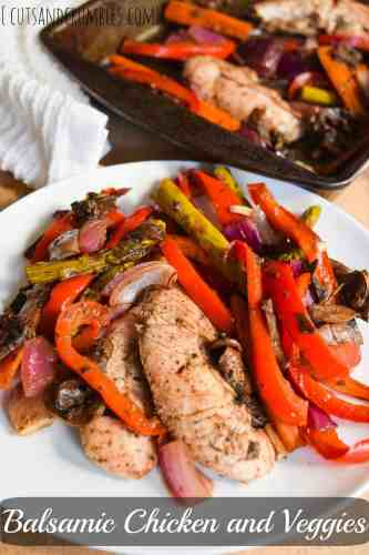 balsamic chicken and veggies with title
