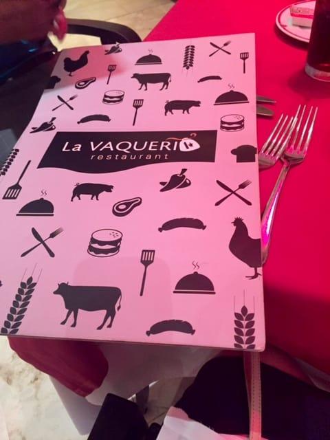 La Vaqueri menu