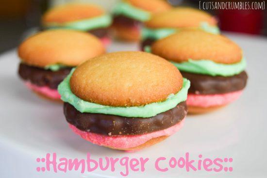 Hamburger Cookies-5