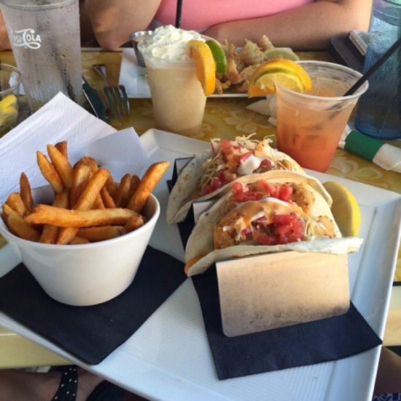 beach house shrimp tacos