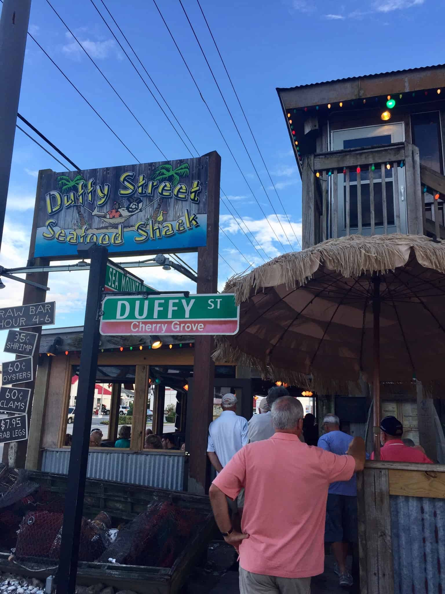 duffy street seafood shack restaurant