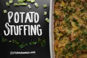 potato stuffing old photo