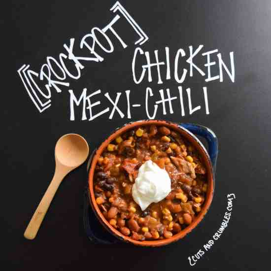 Crockpot Chicken Mexi-Chili