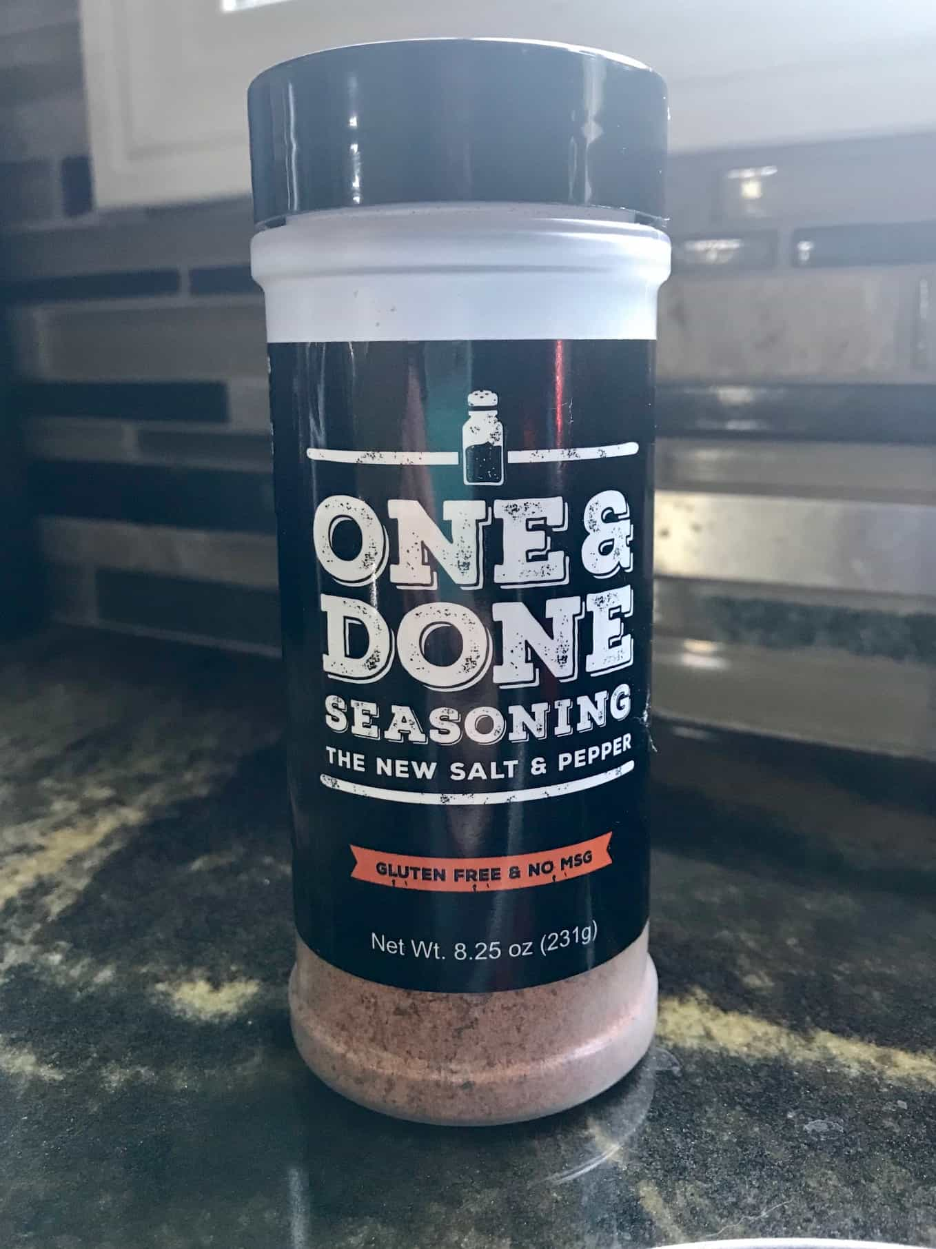 One and Done Seasoning for reference