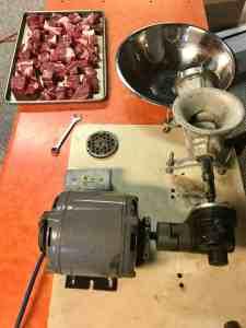 Meat grinder