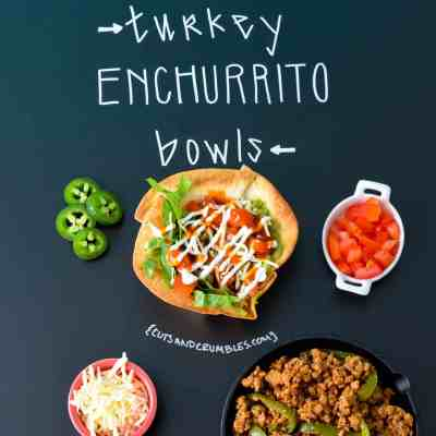 Turkey Enchurritos Bowls