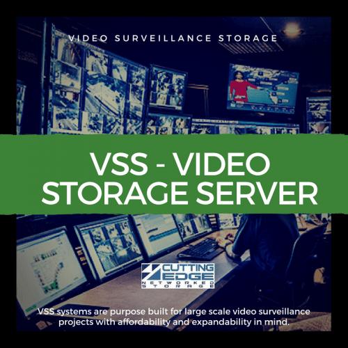 VSS video surveillance storage