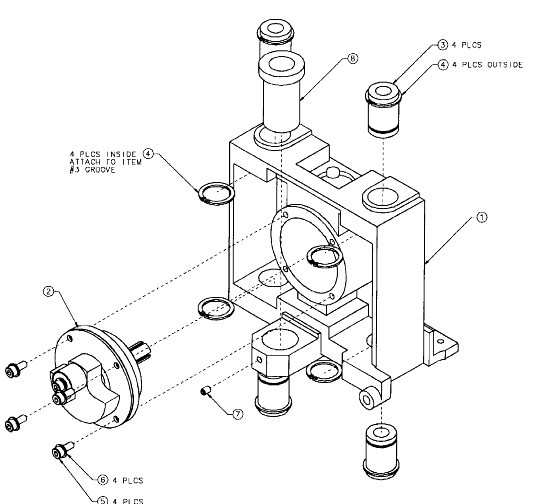 Mechanical Parts ,85615 Elevator Carriage Assembly For