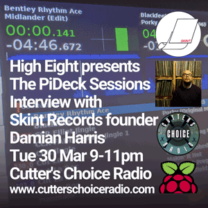 High Eight - Interview with Damian Harris (Skint Records) - The PiDeck Sessions